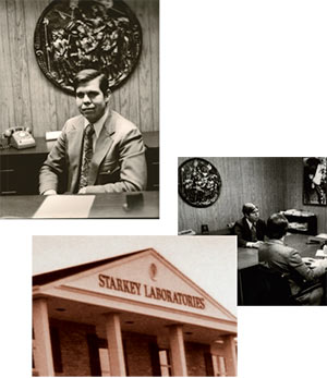 William F. Austin bought Starkey Labs from Harold Starkey
