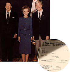 President Reagan Nancy Reagan William Austin